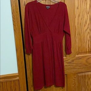 Express Red Dress. Size XS. Worn once.